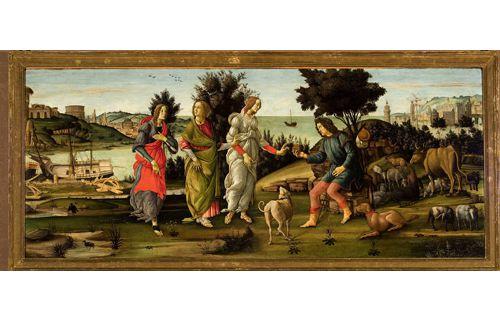 ボッティチェリ展 Botticelli e il suo tempo 東京都美術館-7