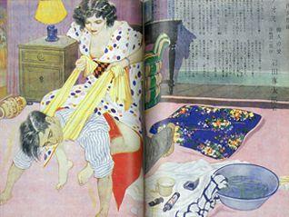 耽美・華麗・悪魔主義 谷崎潤一郎文学の着物を見る ~アンティーク着物と挿絵の饗宴~