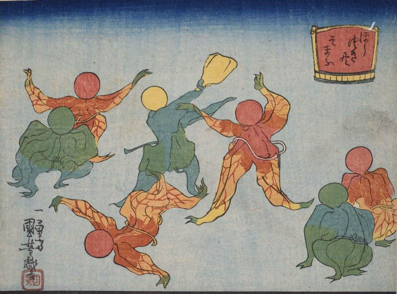 くもんの子ども浮世絵コレクション 遊べる浮世絵展 練馬区立美術館-2