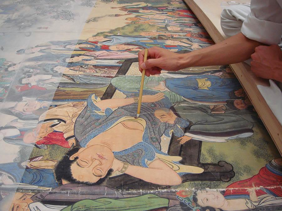 住友財団修復助成30年記念「文化財よ、永遠に」 東京国立博物館-3