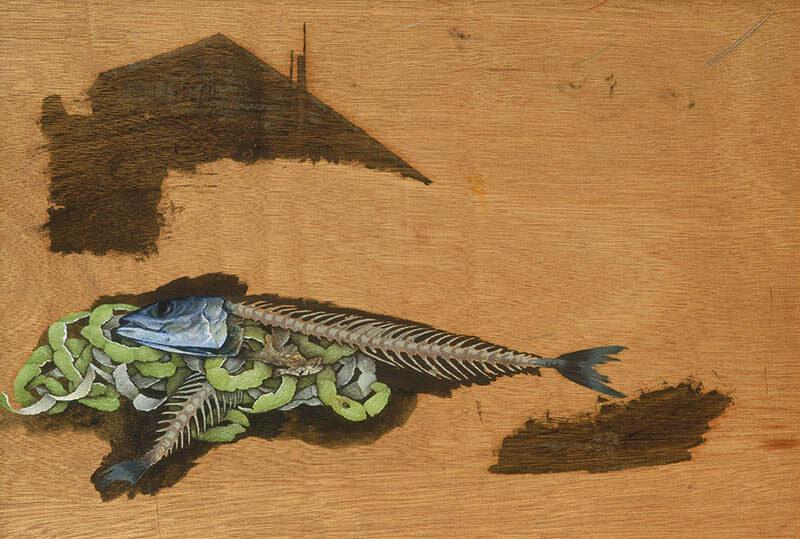 第1期常設展「神田日勝―未完のキャンバス」 神田日勝記念美術館-3