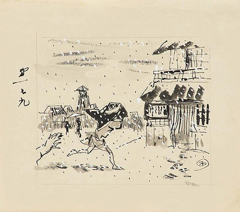 素描礼讃 ―岸田劉生と木村荘八― うらわ美術館-3