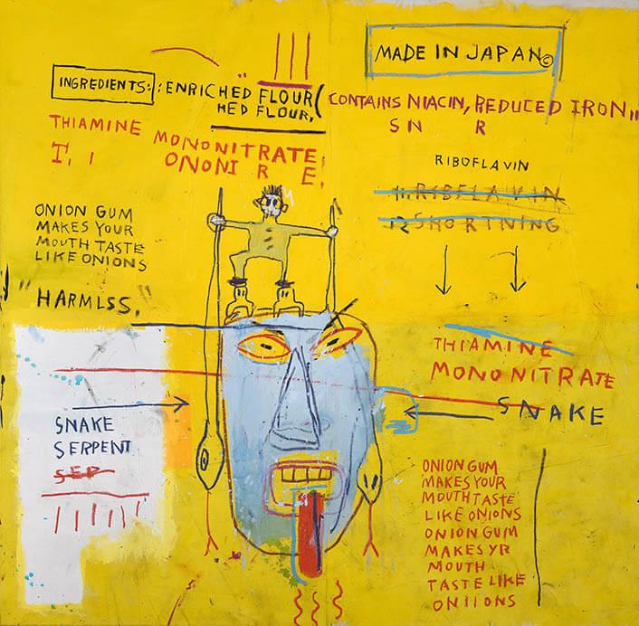 バスキア展 メイド・イン・ジャパン Jean-Michel Basquiat Made in Japan 森アーツセンターギャラリー-2
