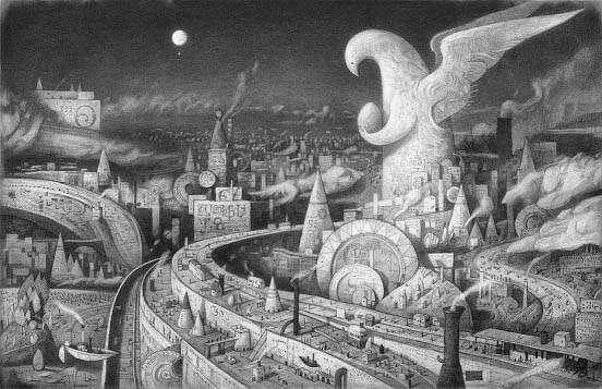 ショーン・タンの世界展 どこでもないどこかへ ちひろ美術館・東京-1