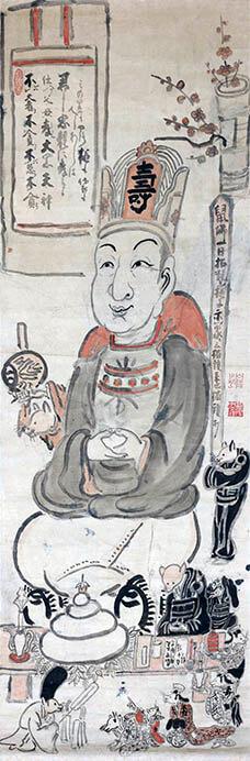 日本の素朴絵 ーゆるい、かわいい、たのしい美術ー  三井記念美術館-9