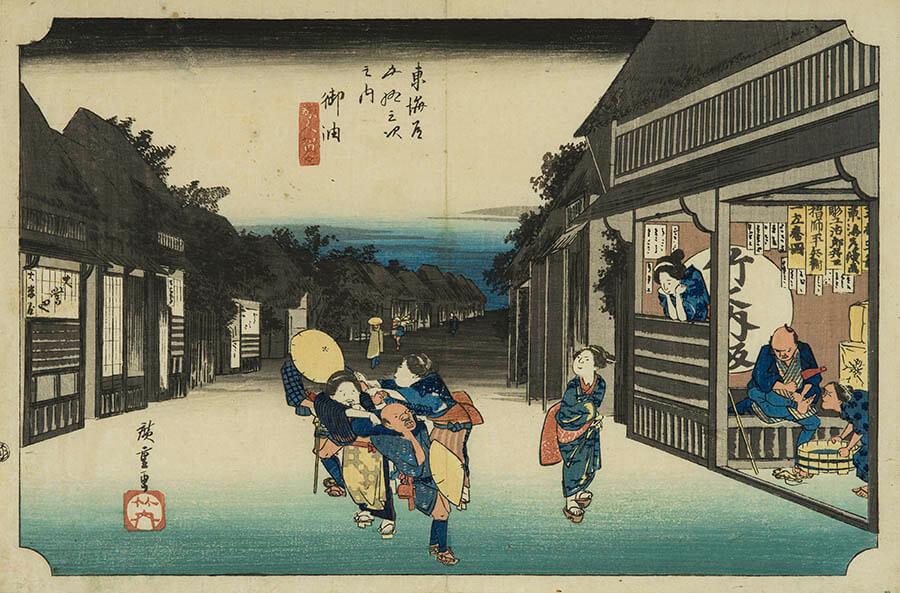 ときたび展 〜時を超え、絵画で旅する日本の名所〜 嵯峨嵐山文華館-5