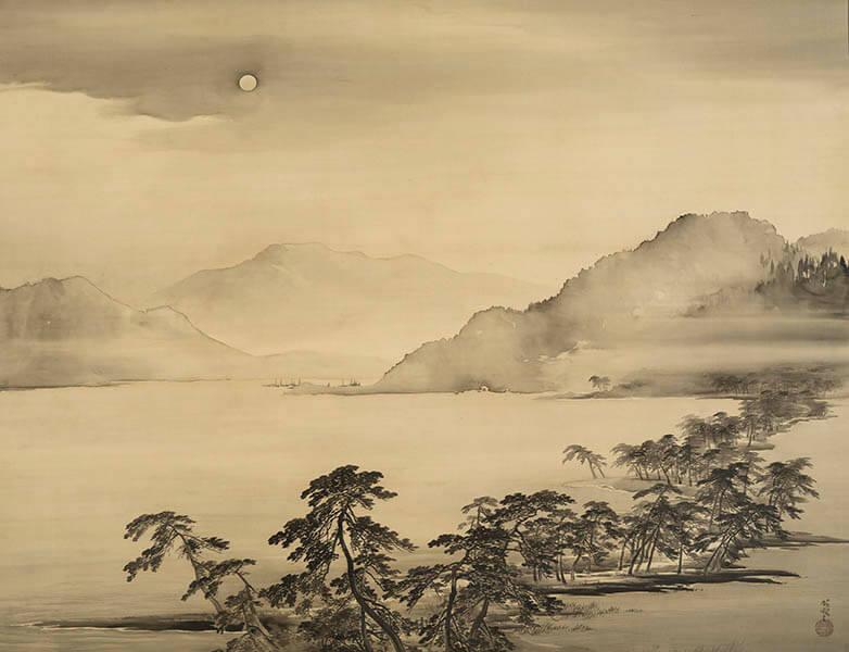 ときたび展 〜時を超え、絵画で旅する日本の名所〜 嵯峨嵐山文華館-8