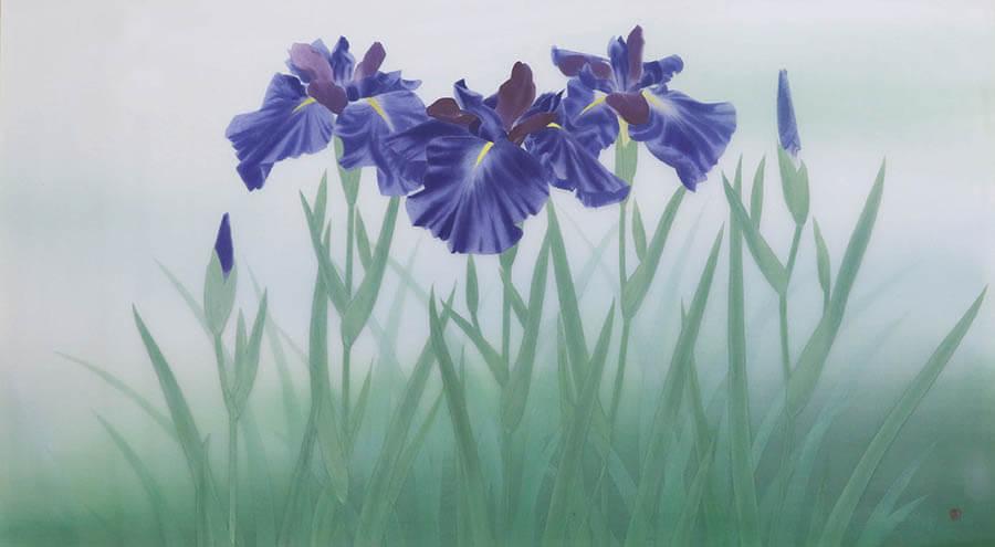 青の世界 光の始まりは青から 今岡美術館-1