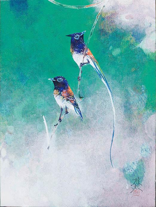 青の世界 光の始まりは青から 今岡美術館-2