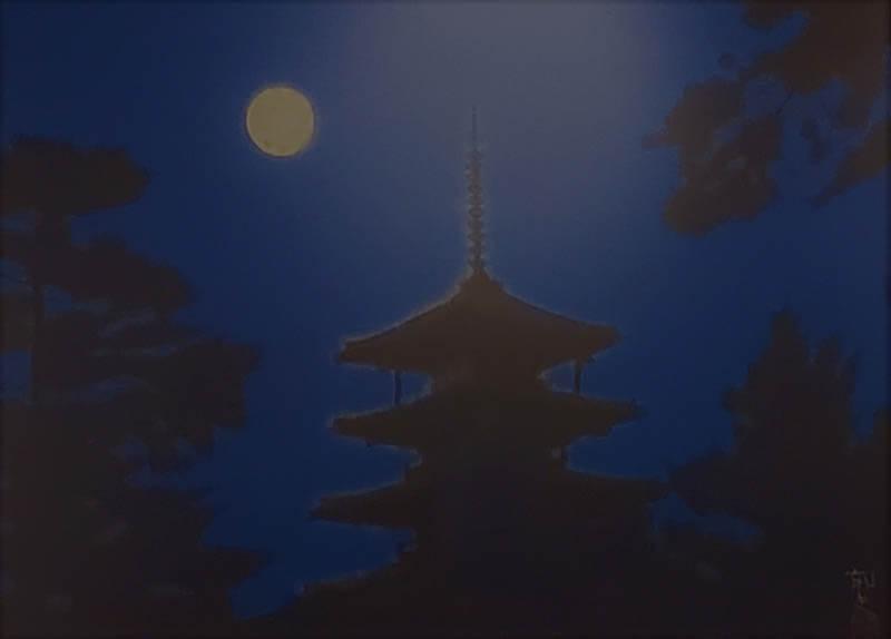 青の世界 光の始まりは青から 今岡美術館-3