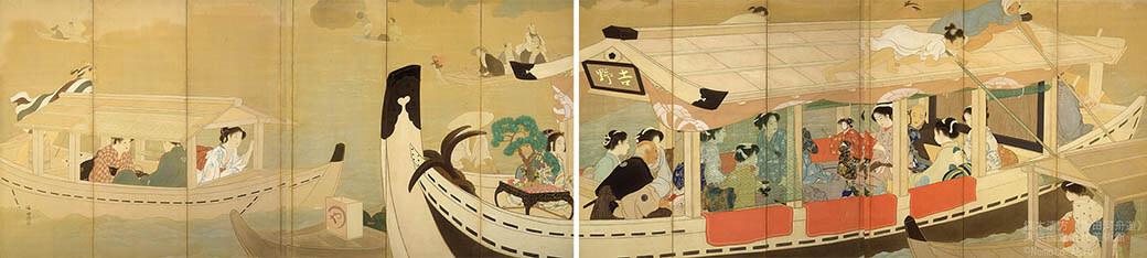 鏑木清方 幻の《築地明石町》特別公開 東京国立近代美術館-7