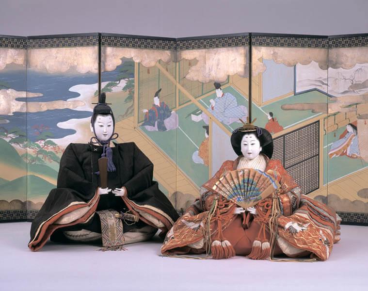 三井家のおひなさま 特別展示 かわいい御所人形 三井記念美術館-1