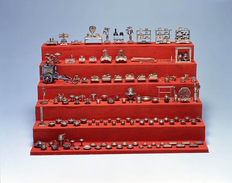 三井家のおひなさま 特別展示 かわいい御所人形 三井記念美術館-2