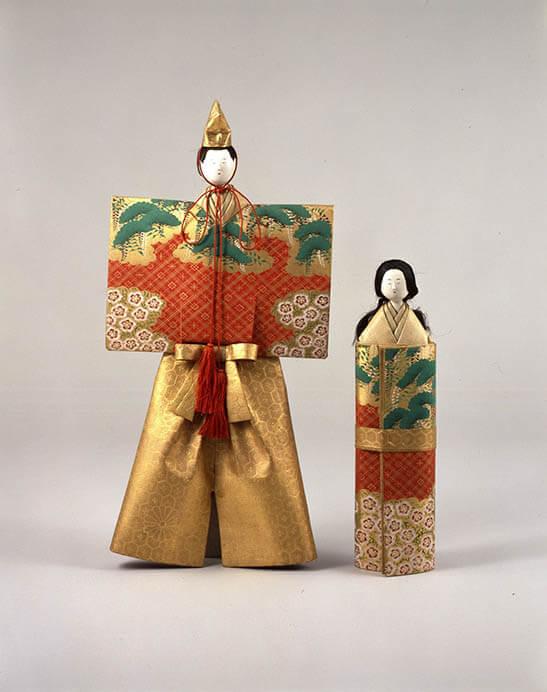三井家のおひなさま 特別展示 かわいい御所人形 三井記念美術館-3