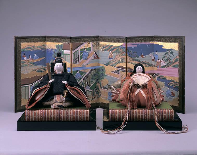 三井家のおひなさま 特別展示 かわいい御所人形 三井記念美術館-4
