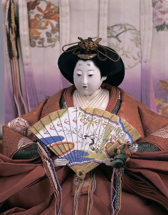 三井家のおひなさま 特別展示 かわいい御所人形 三井記念美術館-5