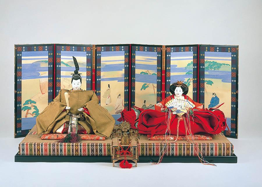 三井家のおひなさま 特別展示 かわいい御所人形 三井記念美術館-6