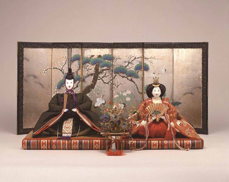 三井家のおひなさま 特別展示 かわいい御所人形 三井記念美術館-7