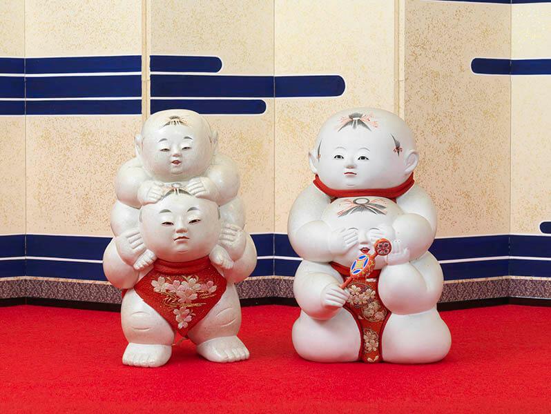 三井家のおひなさま 特別展示 かわいい御所人形 三井記念美術館-8