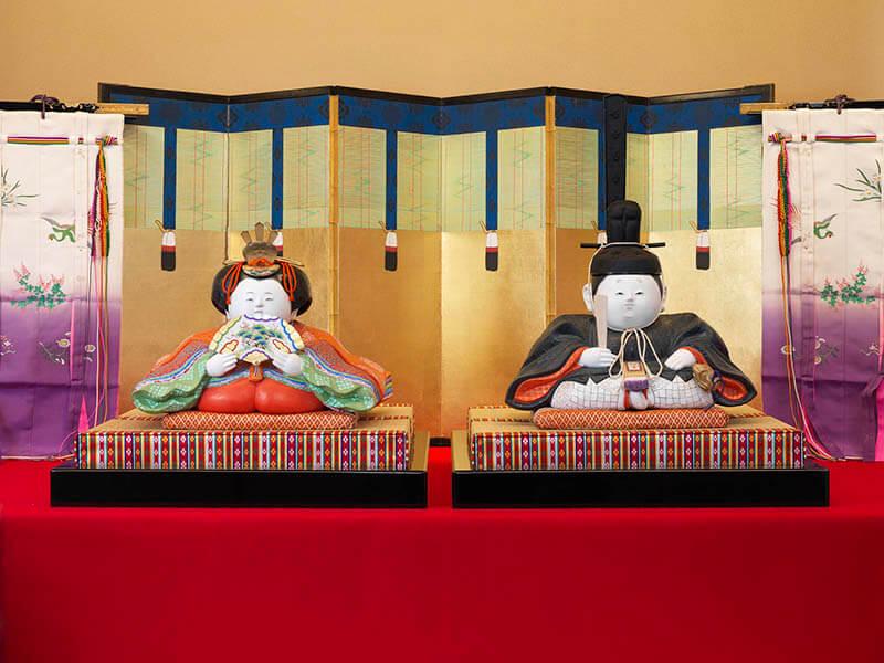 三井家のおひなさま 特別展示 かわいい御所人形 三井記念美術館-9