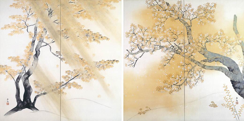 冬季特別展 「日本画のテーマ 巨匠が愛した美」 足立美術館-2