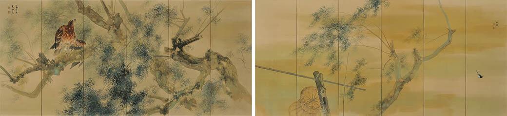 冬季特別展 「日本画のテーマ 巨匠が愛した美」 足立美術館-3