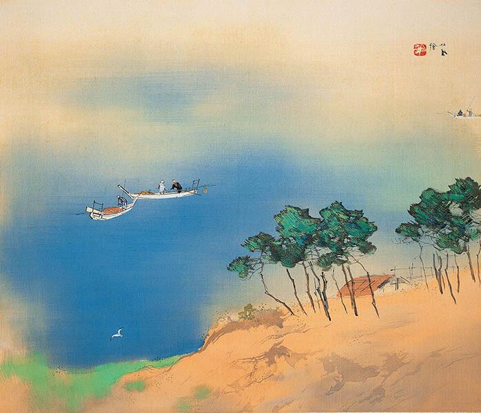 冬季特別展 「日本画のテーマ 巨匠が愛した美」 足立美術館-4