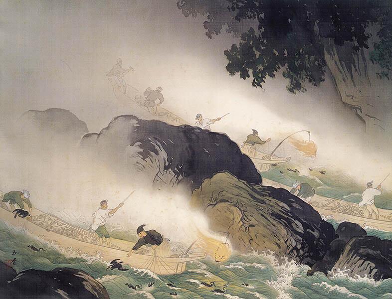 冬季特別展 「日本画のテーマ 巨匠が愛した美」 足立美術館-5