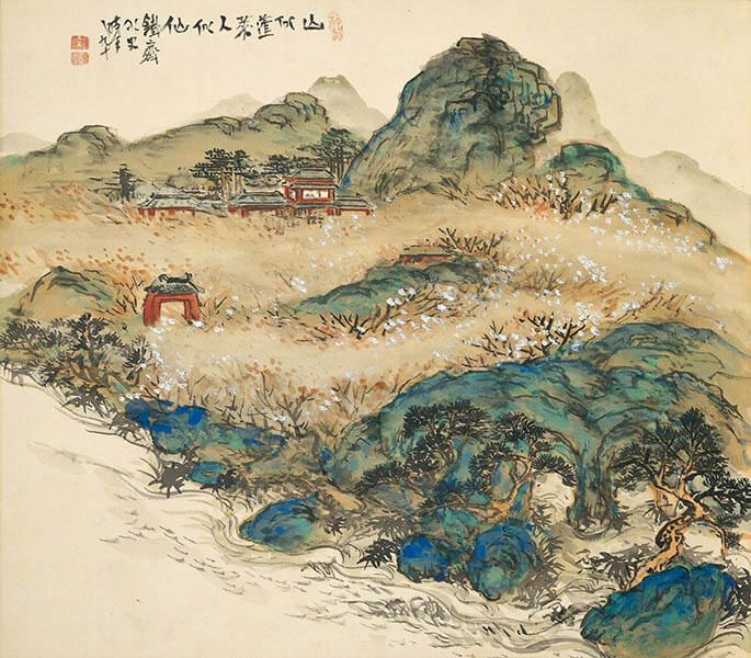 冬季特別展 「日本画のテーマ 巨匠が愛した美」 足立美術館-7