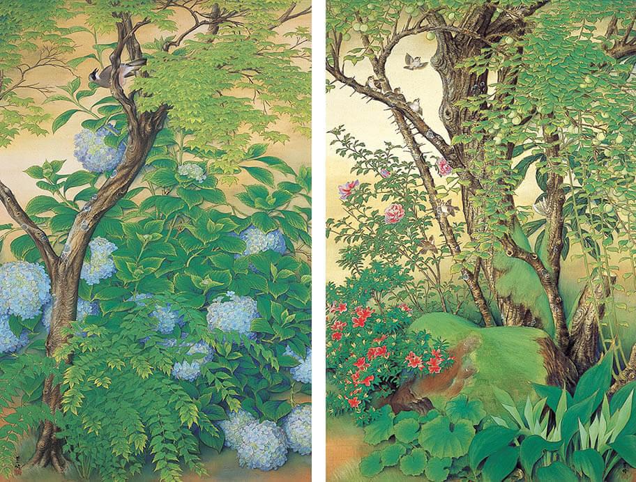 春季特別展「美との出会い −名画に恋して− 足立全康の審美眼」 足立美術館-8