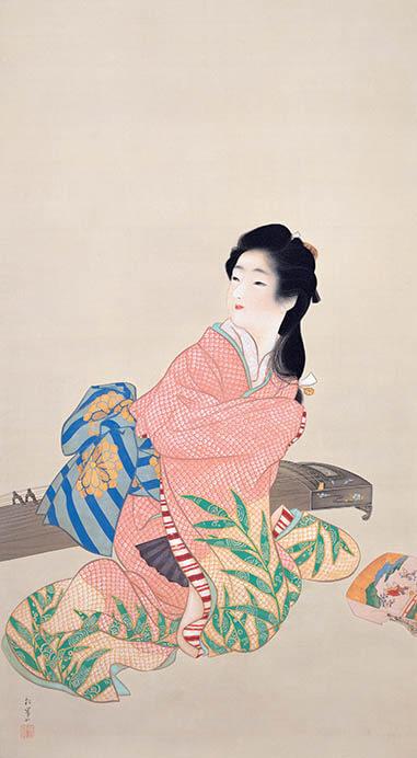 冬季特別展「愛の日本画 あふれる愛情、慈しむ心」 足立美術館-2
