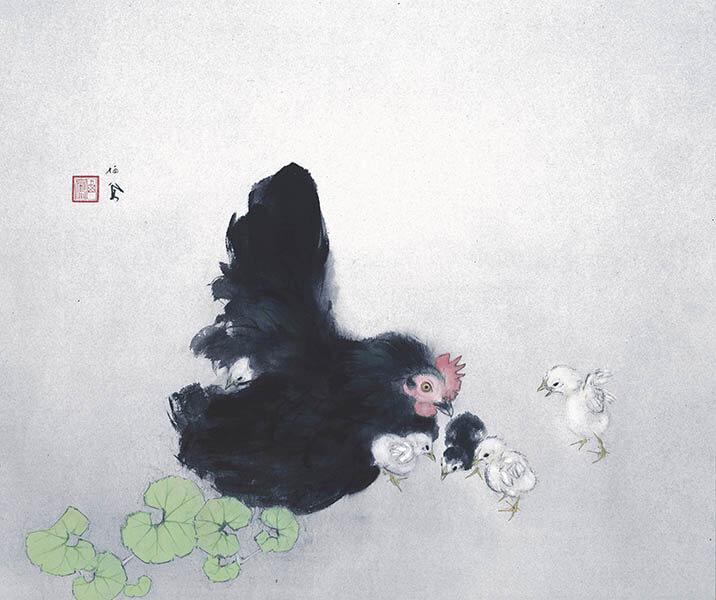 冬季特別展「愛の日本画 あふれる愛情、慈しむ心」 足立美術館-4