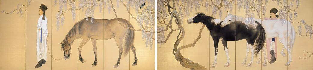 冬季特別展「愛の日本画 あふれる愛情、慈しむ心」 足立美術館-5