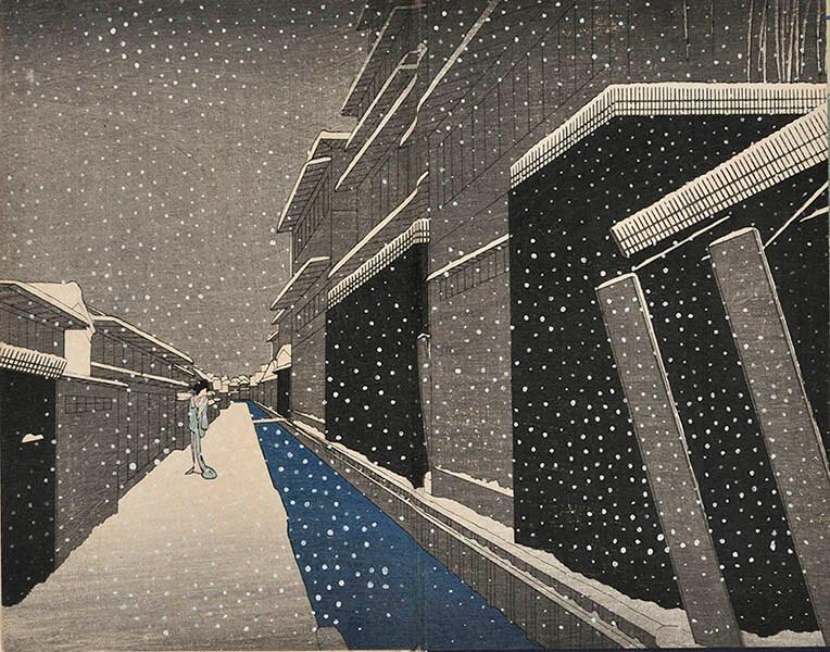 特別展 小村雪岱スタイル -江戸の粋から東京モダンへー 三井記念美術館-7