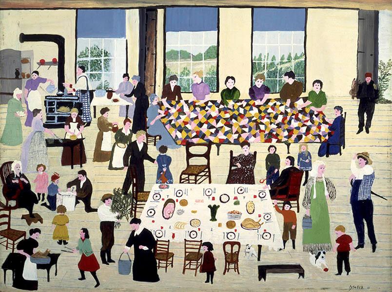 生誕160年記念 グランマ・モーゼス展―素敵な100年人生 世田谷美術館-3