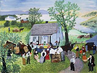 生誕160年記念「グランマ・モーゼス展―素敵な100年人生」