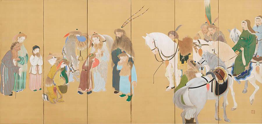悲運の画家たち 嵯峨嵐山文華館-2