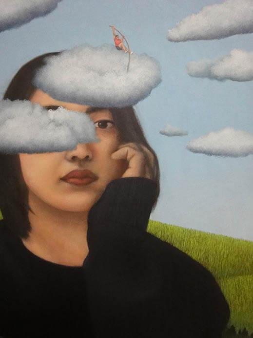 吉行鮎子展 ~迷える羊たちの衝動~ 奈義町現代美術館-1