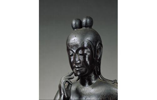 日韓国交正常化50周年記念 特別展「ほほえみの御仏ー二つの半跏思惟像ー」 東京国立博物館-10
