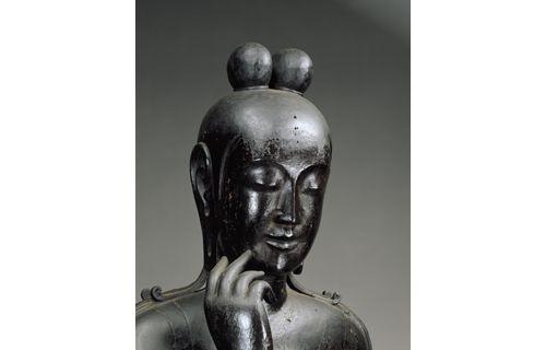 日韓国交正常化50周年記念 特別展「ほほえみの御仏ー二つの半跏思惟像ー」 東京国立博物館-11