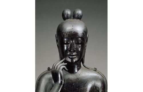 日韓国交正常化50周年記念 特別展「ほほえみの御仏ー二つの半跏思惟像ー」 東京国立博物館-8