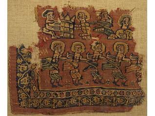 コレクション展 古美術 コプト裂と古代オリエント文物