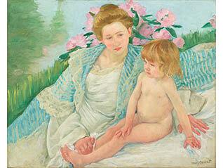 石橋財団コレクション選 特集コーナー展示「印象派の女性画家たち」