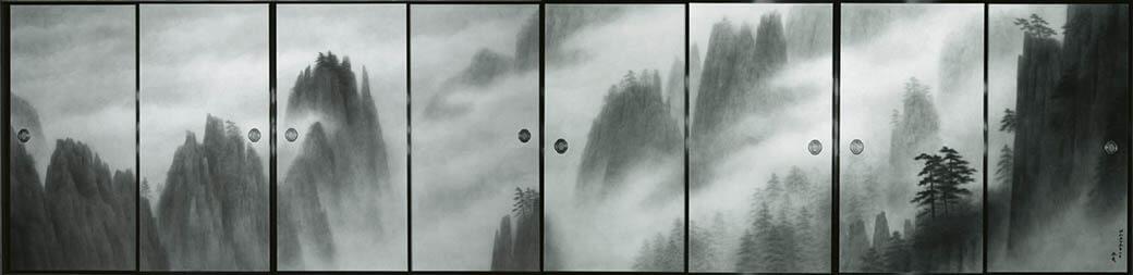 東日本大震災復興祈念 東山魁夷 唐招提寺御影堂障壁画展 宮城県美術館-4