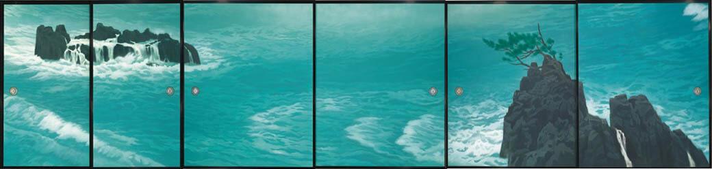 東日本大震災復興祈念 東山魁夷 唐招提寺御影堂障壁画展 宮城県美術館-2
