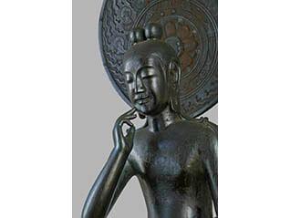 東日本大震災復興祈念 奈良・中宮寺の国宝展