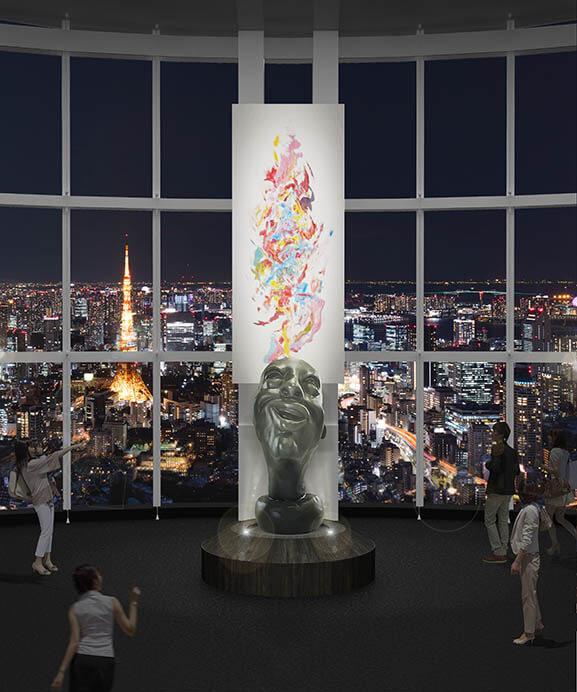 FREESTYLE 2020 大野智 作品展 六本木ヒルズ展望台 東京シティビュー-7