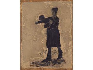 香月泰男の表現 ―人―