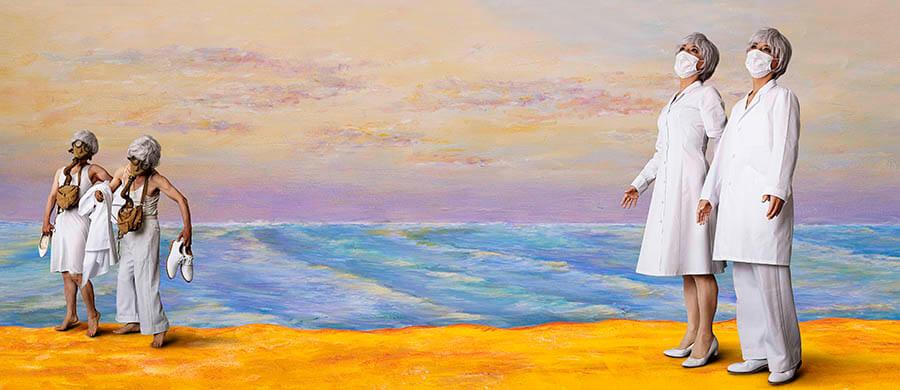 ジャム・セッション 石橋財団コレクション×森村泰昌 M式「海の幸」―森村泰昌 ワタシガタリの神話 アーティゾン美術館-5