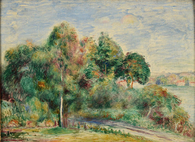 ランス美術館コレクション 風景画のはじまり コローから印象派へ SOMPO美術館-11